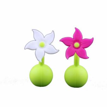 Harga Haakaa Silicone Breast Pump Flower Stopper