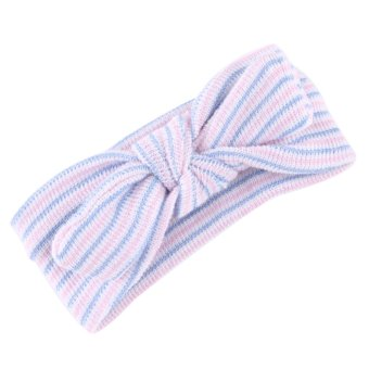 Baby Cloth Headband Bowknot Headwear Multicolor