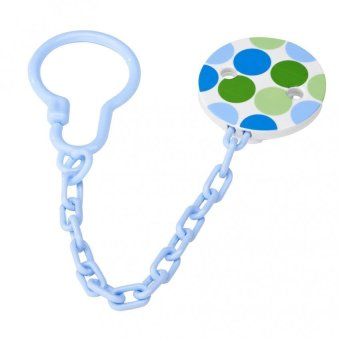 Harga Dr Brown's Pacifier Tether/Clip - Blue