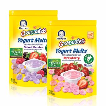Harga GERBER® GRADUATES® Yogurt Melts® Bundle (Mixed Berries & Strawberry)