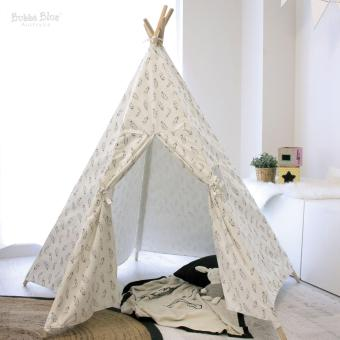 Bubba Blue Feathers Organic Cotton Teepee Tent