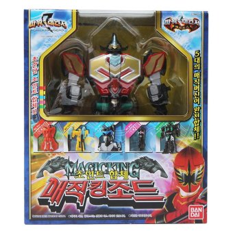 Harga Bandai Power Rangers joint copolymer Magic King