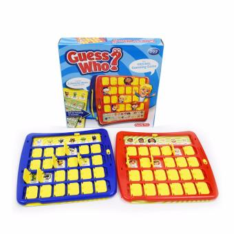 Harga XTV The Original Guessing Game Of Guess Who Intellect Games - intl