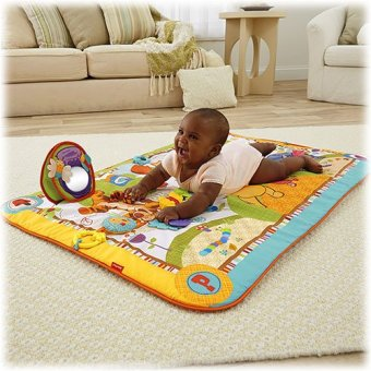Harga FISHER-PRICE Winnie The Pooh Hundred Acres Play Mat BJL03