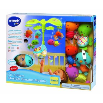 Harga VTech Baby Lil' Critters Musical Dreams Mobile