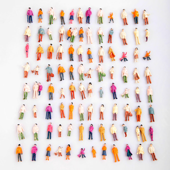Harga Painted Model People (1:100)