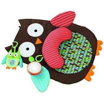 Harga Kids Friends Tummy Time Mat Hug and Hide Owl-No original packaging(Export)
