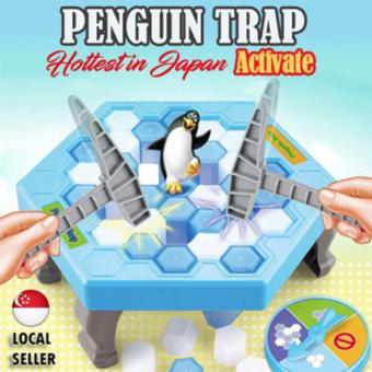 Harga Penguin Trap Crush Ice Game | Building Block | Family Game [Japan Hottest Game]