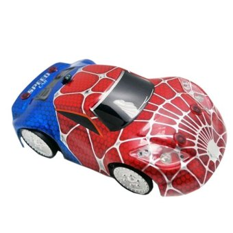 Harga 2016 RC Car Infrared Zero Gravity RC Wall Climbing Car Remote Control Car RC Toys Outdoor Fun (Spider shell)