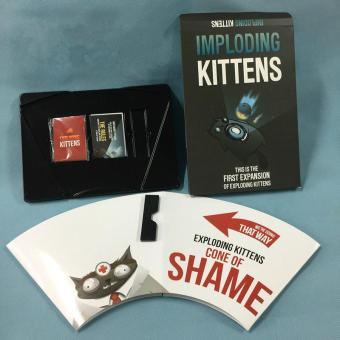 Exploding Cards Game Family-friendly Kittens Original and NSFW Playing Cards About Kittens Imploding Party Board Game - intl