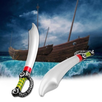 Harga Inflatable Pirate Sword Toys Props Stage Performance Supplies For Kids Boys - intl