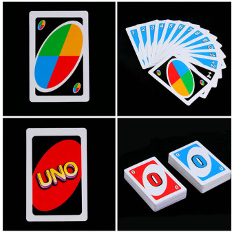 Harga HengSong Family Funny Entertainment Board Game UNO Fun Poker Playing Cards Puzzle Games Family Fun Poker - intl
