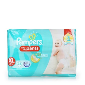 Pampers Baby-Dry Pants XL (12-17kg) 36pcs