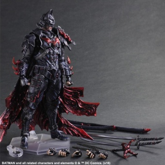 Harga Bushido Batman Play Arts Action Figure Toys Boxed PVC JusticeLeague Action Figures Collection Batman Toys - intl