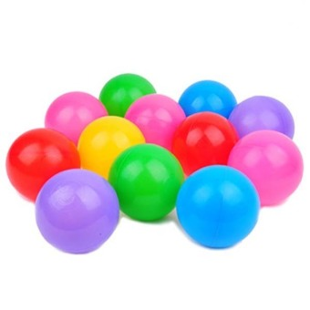 Harga 50pc Kids Baby Colorful Soft Play Balls Toy for Ball Pit Swim Pit Ball Pool