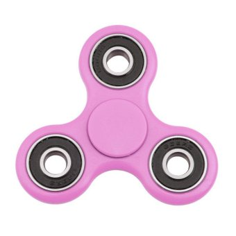 Hand Spinner Fidget Copper Ball Desk Focus Toy EDC For Kids/Adults Hot Pink - intl