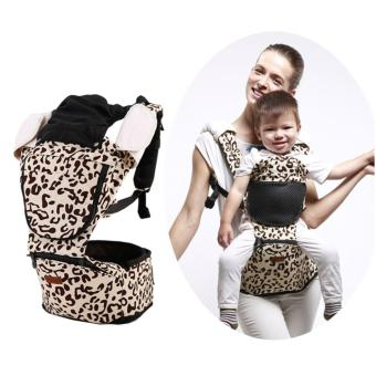 Harga Korea Jerry Baby Hip Seat Baby Carrier-Leopard