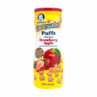 Harga GERBER® GRADUATES® Puffs Strawberry Apple 42g
