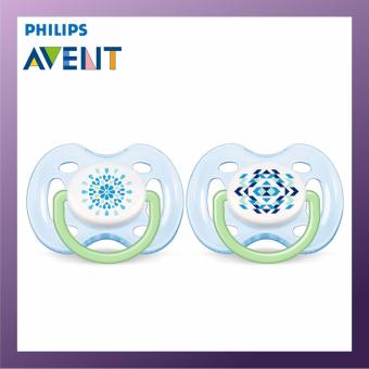 PHILIPS AVENT Freeflow Soother 0-6M Twin Pack Blue
