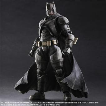 Harga Armored Batman Batman Play Arts Action Figure Toys Boxed PVC Justice League Action Figures Collection Batman Toys - intl