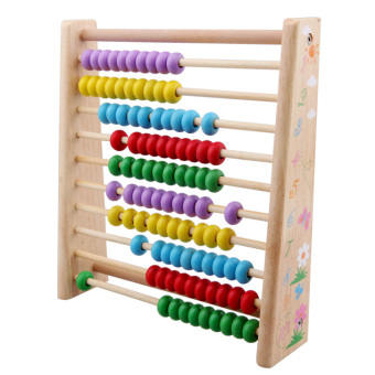 Harga And young was music wooden math early childhood toys computing rack