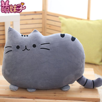Harga Meng sister cat pillow cushion meow star people biscuit cat plush toy doll girls girl gift