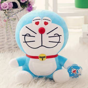 Harga Doraemon Plush Doll Blue -40cm - intl