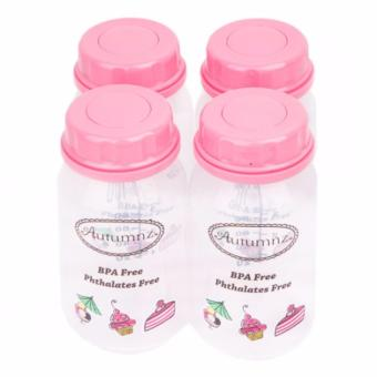 Harga Autumnz Breast Milk Storage Bottles - Medela Compatible Breastmilk Storage Bottles (Pink Sweeties)