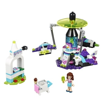 Harga LEGO 41128 Friends Amusement Park Space Ride