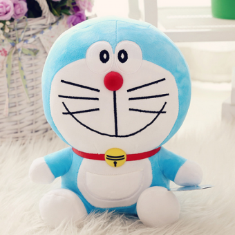 Harga Doraemon Plush Doll Blue -30cm - intl