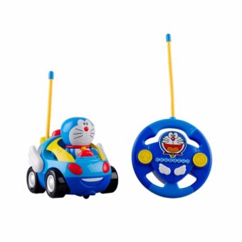 Harga Baby Children Cute Doraemon Remote Control Car (Blue)