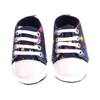 Harga Newborn Baby First Walkers Sports Shoes(Star Cowboy)