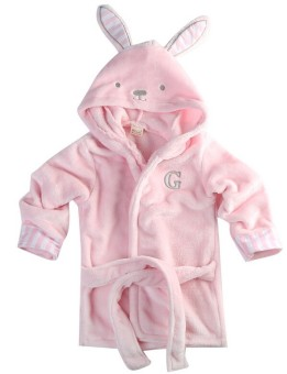 Harga Baby Bathrobe Children Pajamas Baby Homewear Pink