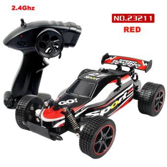 Harga 1:20 2.4GHZ 2WD Radio Remote Control Off Road RC RTR Racing Car Truck - intl
