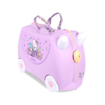 Harga Trunki Ride-on Suitcase Hello Kitty Lilac 1pcs