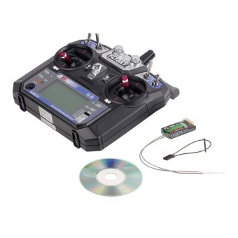 Harga FS-i6 Flysky AFHDS 2.4GHz 6CH Radio Transmitter and FS-iA6 Receiver for RC (EXPORT)