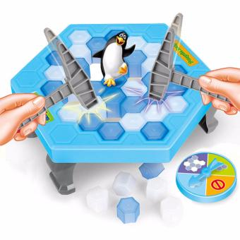 Harga Penguin Trap Icebreaker Kid Puzzle Desktop Knock Ice Block Family Funny Toy Gift - intl