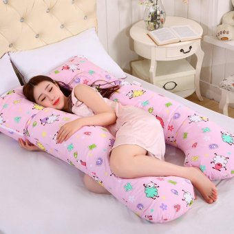 Harga Baby lily Comfort U Shape Body Pregnancy Maternity Cushion Pillow - intl