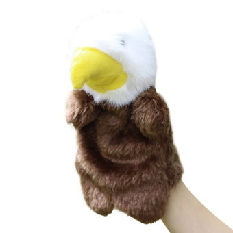 Harga Eagle Hand Puppet Baby Soft Doll Plush Toy