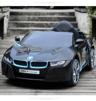 BMW i8 Concept Electric Ride-On Car (Black)