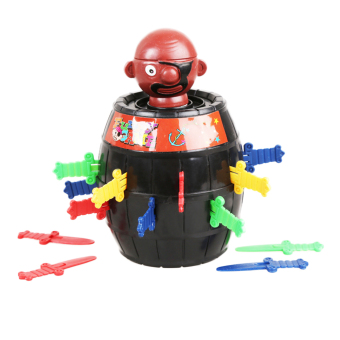Harga Fancyqube Stab Pop Up Toy Gadget Pirate Barrel Kids Children Toys Game Color Random