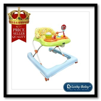 Harga Lucky Baby® 500750 Carnival™ Baby Walker No Music