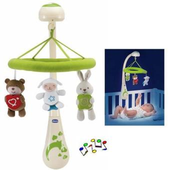 Harga CHICCO Natural Colors Cot Mobile - Sweet Dreams