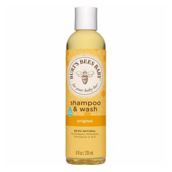 Harga Burt's Bees Baby Bee Tear Free Shampoo and Wash 12oz - Original