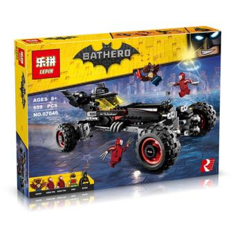 Harga LEPIN 07045 The Batmobile (Batman Movie) Building Block Set