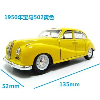 Harga 1962 morgan 1:32110 classic cars antique car alloy simulation car model collection toy vintage car