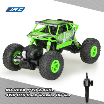 Harga Original JJRC NO.Q22A 1/18 2.4GHz 4WD RTR Rock Crawler RC Car Upgraded Version - intl
