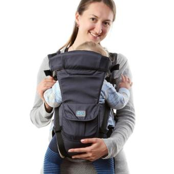 Harga Multifunctional baby carrier Breathable Mesh ergonomic design baby hipseat baby sling carrier - intl