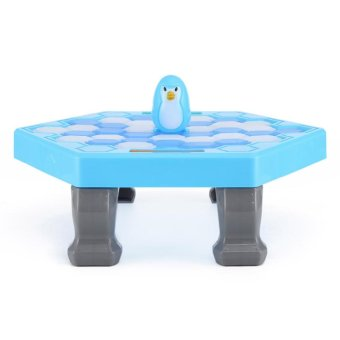LT365 Ice Breaking Save The Penguin Children Kids Interactive Toy Great Family Fun Desk Game - Blue - intl
