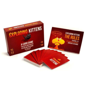 Exploding Kittens Original/NSFW Edition Explosion Card Party Game Adults - intl